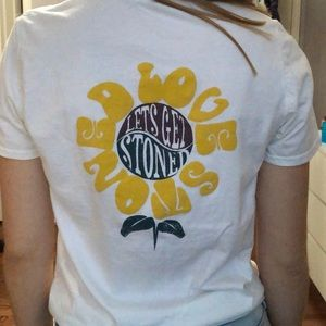 Let's get stoned t-shirt!🌼